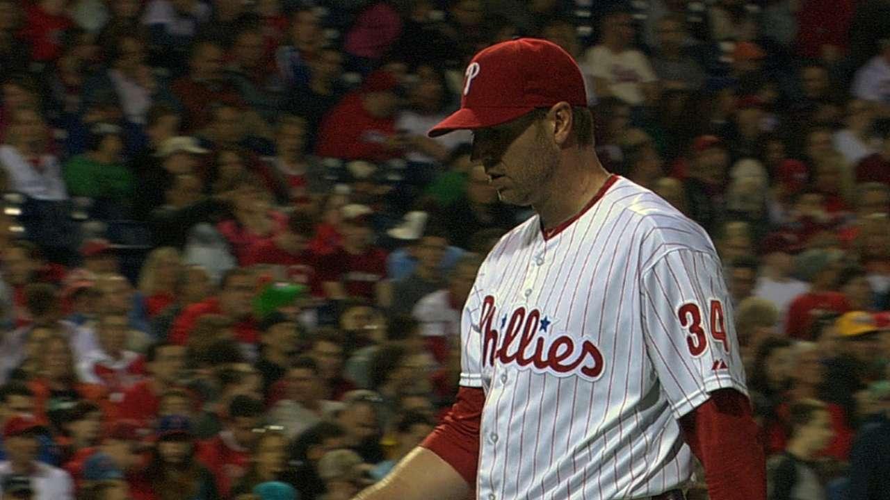 Doc's dominance spoiled by Phillies' bullpen
