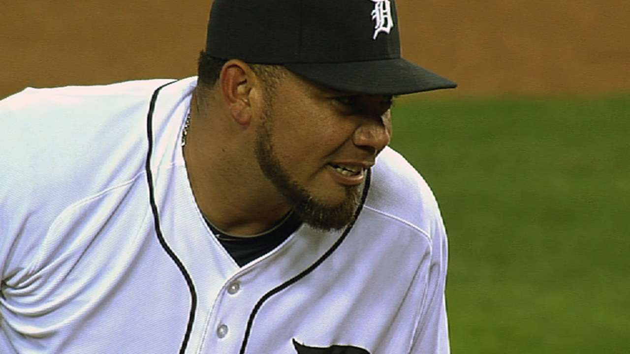 Benoit likes set up in Tigers' bullpen