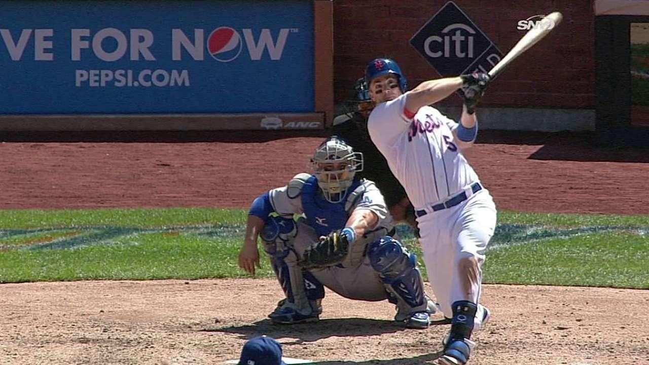 Hefner sólido, pero Mets se quedaron cortos vs. L.A.