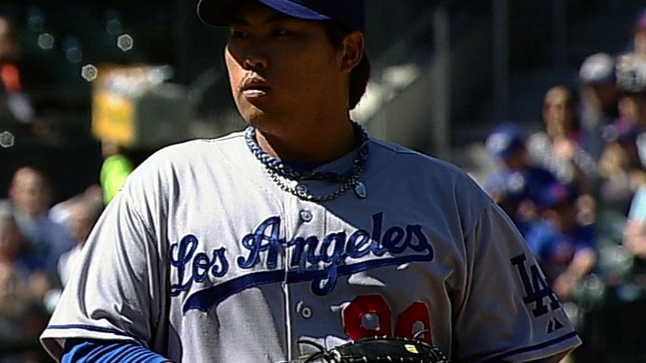 Ryu outstanding as LA takes two of three in New York