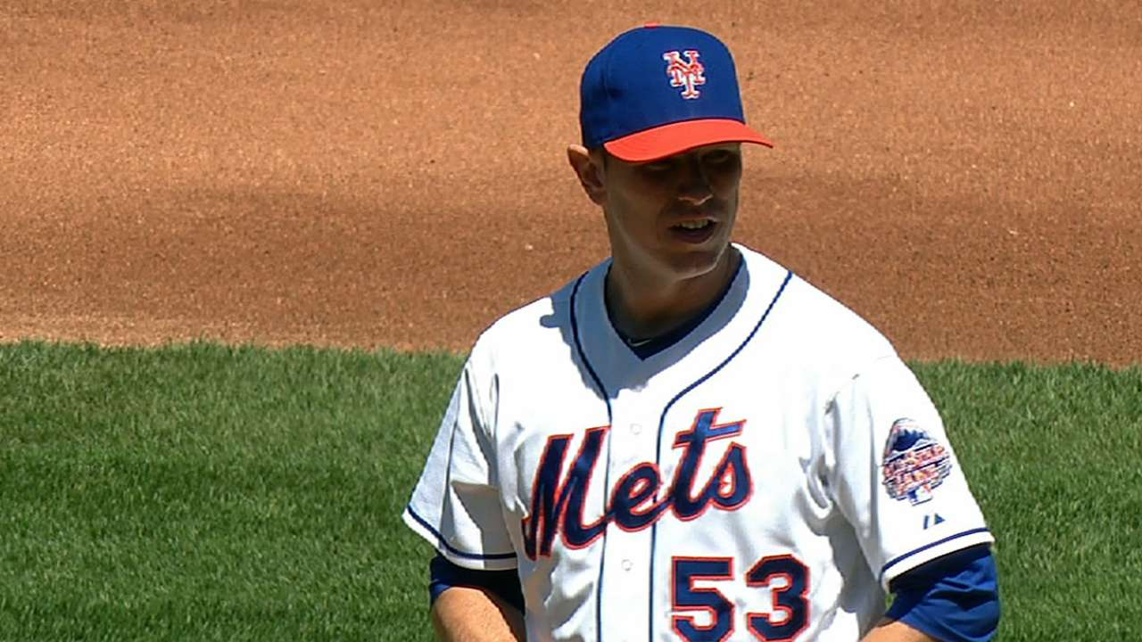 Hefner delivers, but Mets fall short vs. Dodgers