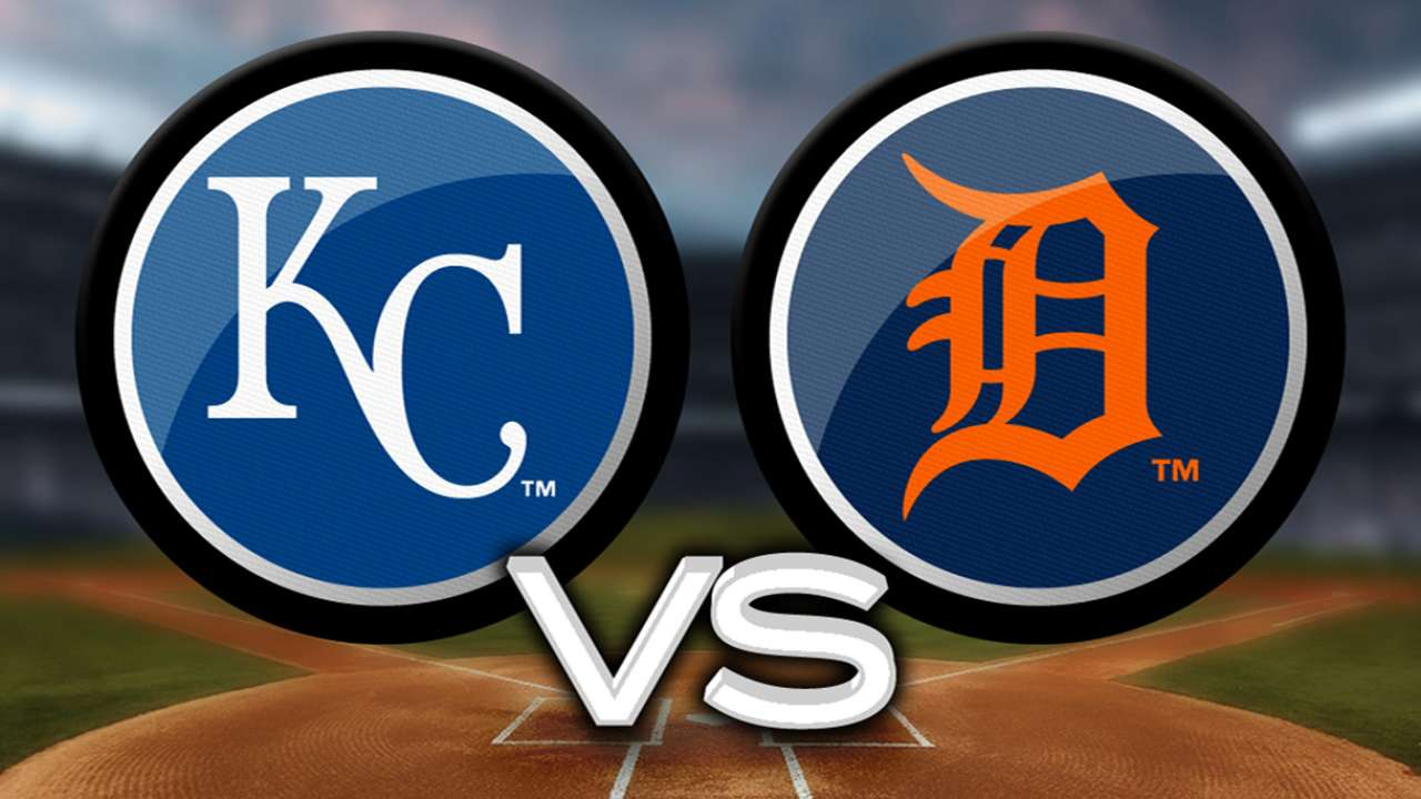 KC to play five-game series vs. Tigers in August