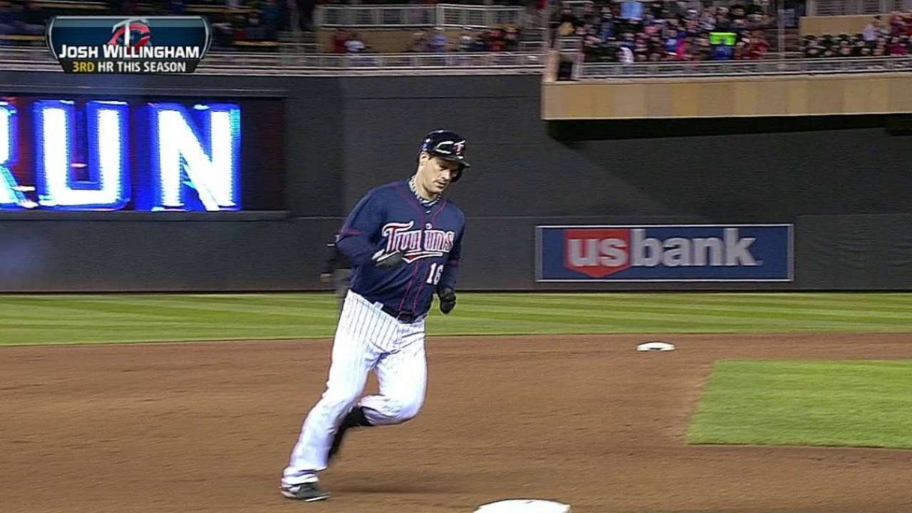 Bats stay quiet as Twins fall to Rangers, drop to .500