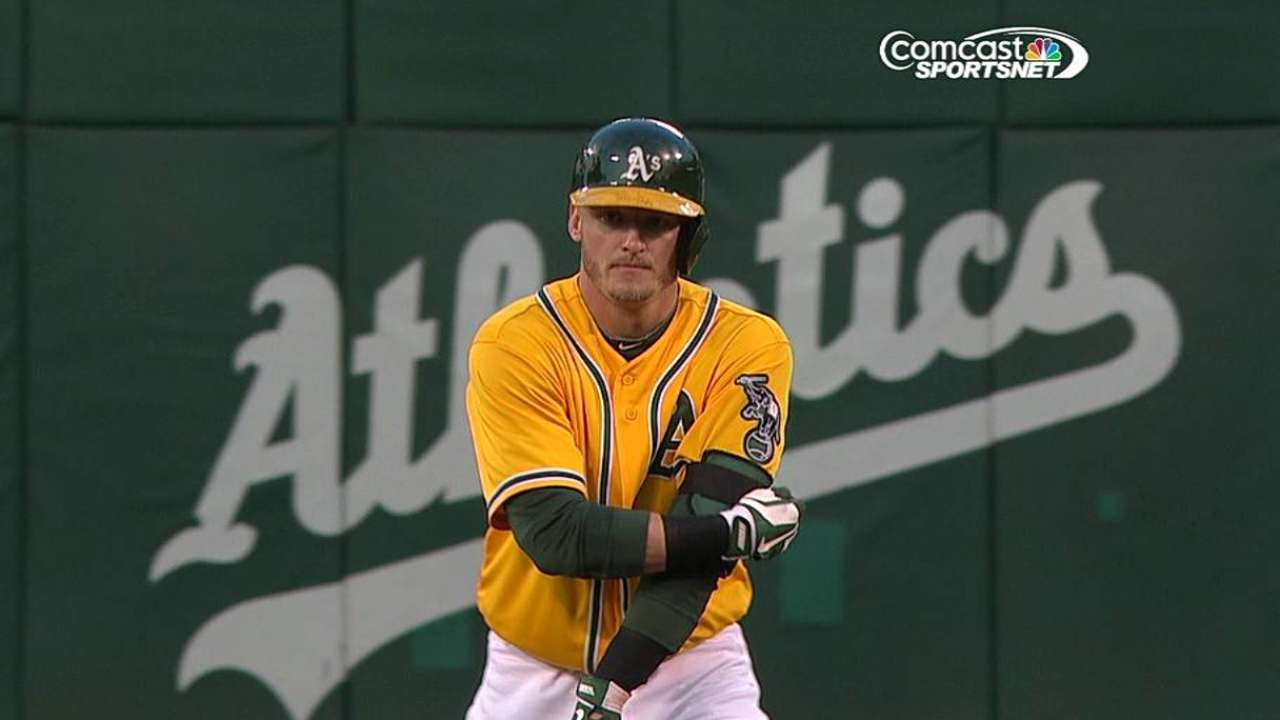 Parker not at his best as A's stumble in opener