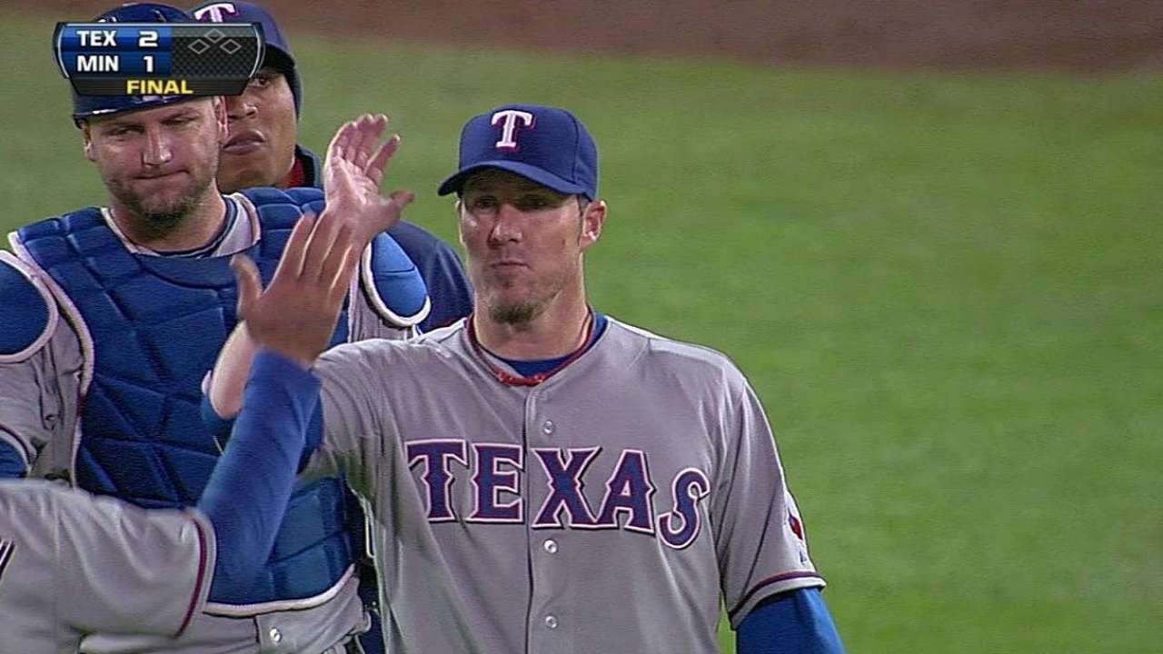 Rangers hope to rest Nathan, Scheppers