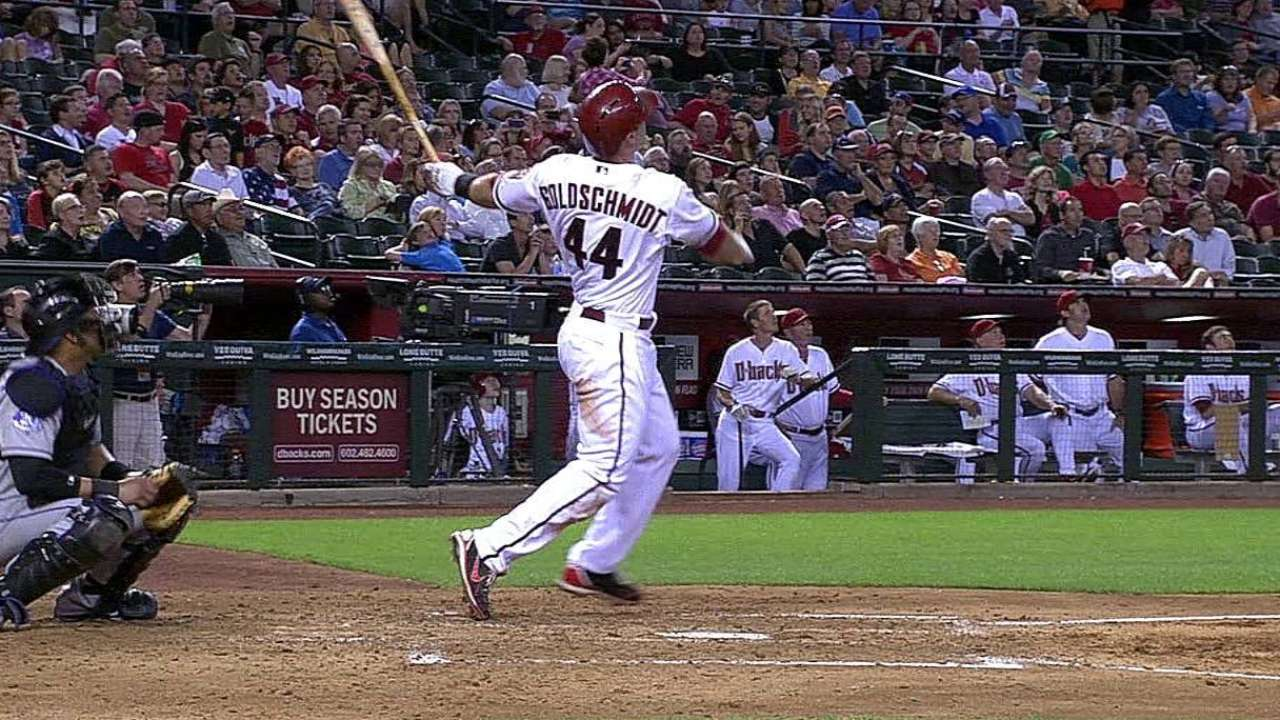 Goldschmidt decide victoria de D-backs con jonrón