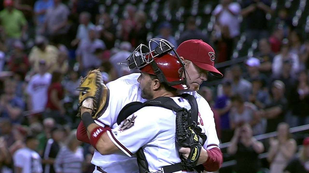 D-backs' bullpen remains together after tough stretch