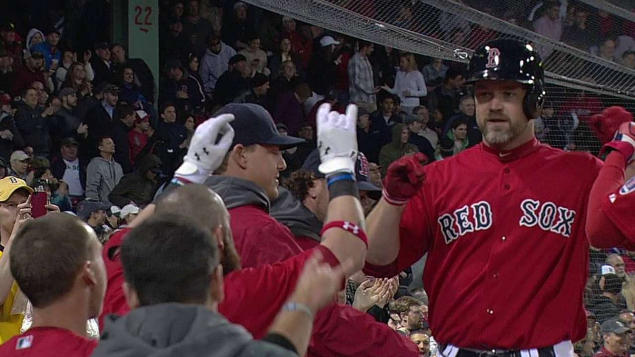 Ross smacks two of Red Sox four solo homers
