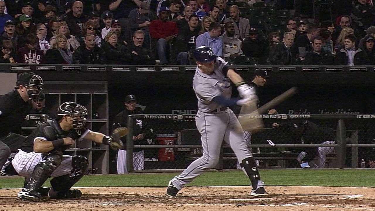 Longoria jonronea pero Rays caen ante White Sox