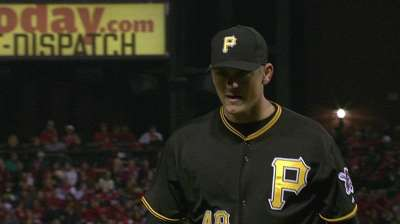 Hughes steps in right direction for Bucs 'pen