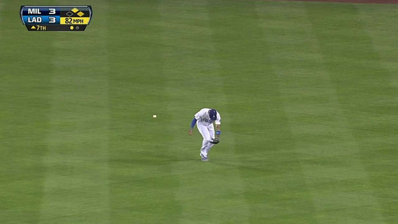 Brewers drop series opener to Dodgers