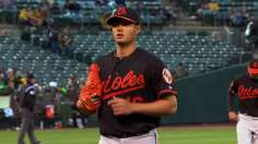 Chen goes eight scoreless as Orioles top A's