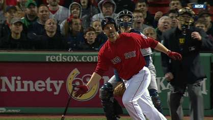Red Sox hit four homers