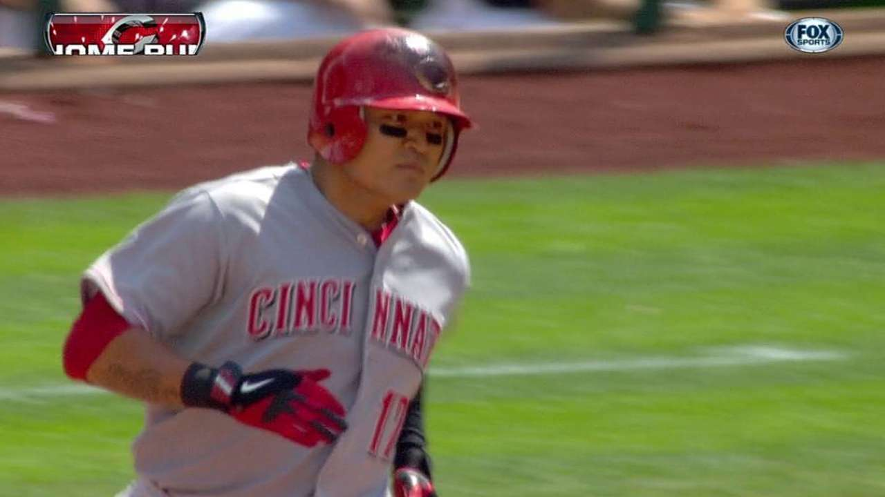 Reds bats show signs of life in minor bounceback