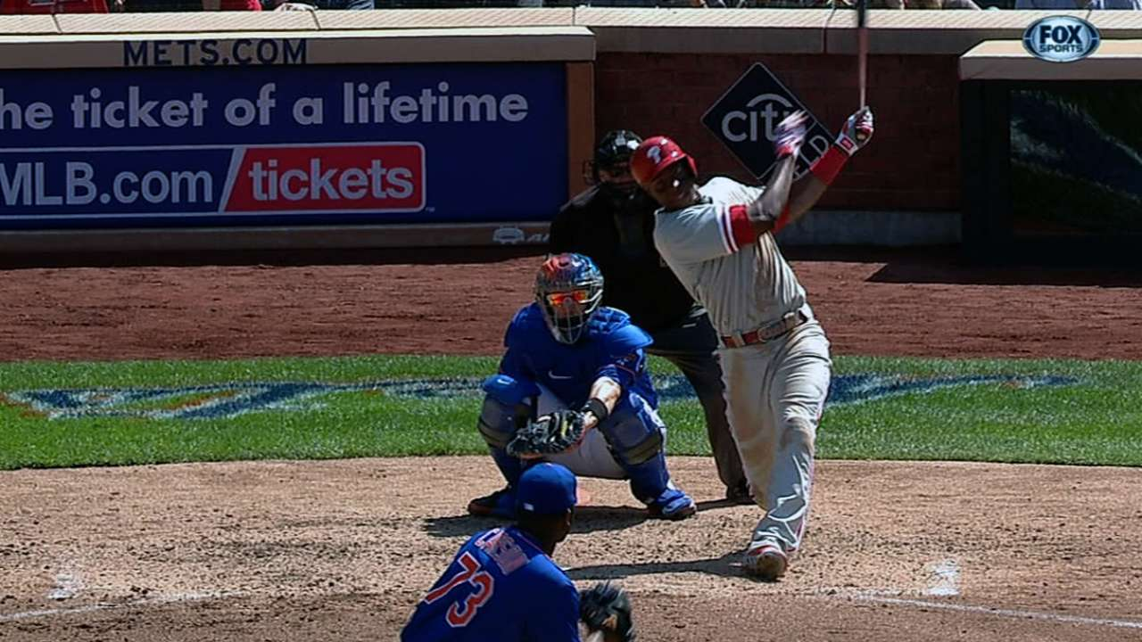 Phils flex in fifth as Pettibone wins with ease