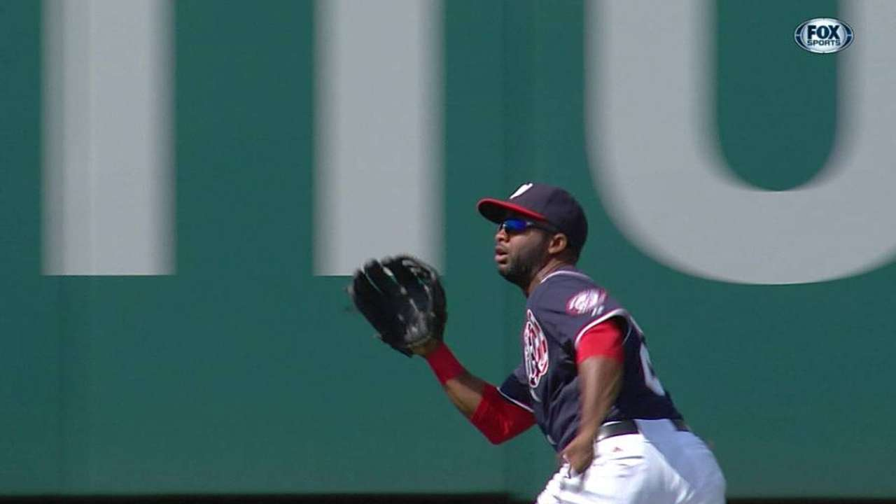 Span saves day with two tremendous catches