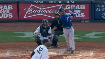 Bautista hits a solo homer