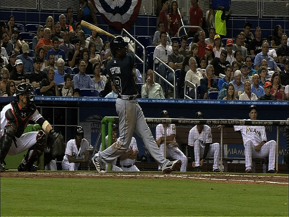 Baseball Video Highlights & Clips | J. Upton continues to go deep for the Braves in '13 - Video