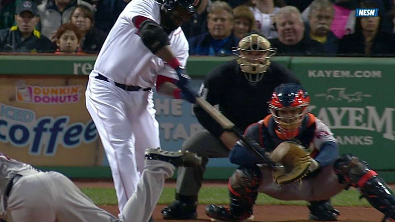Ortiz produjo tres carreras y Boston venció a Houston