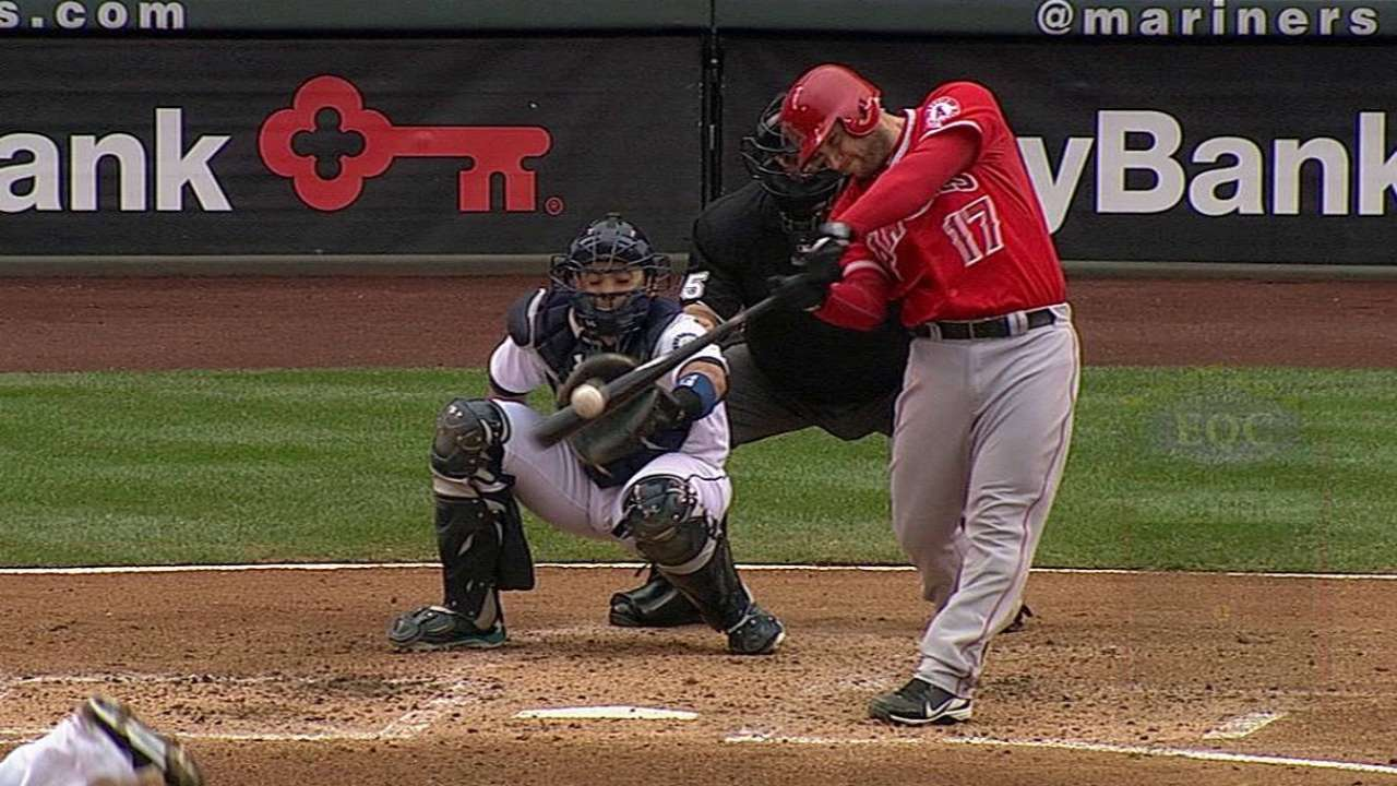 Angels edged out by Felix in Seattle
