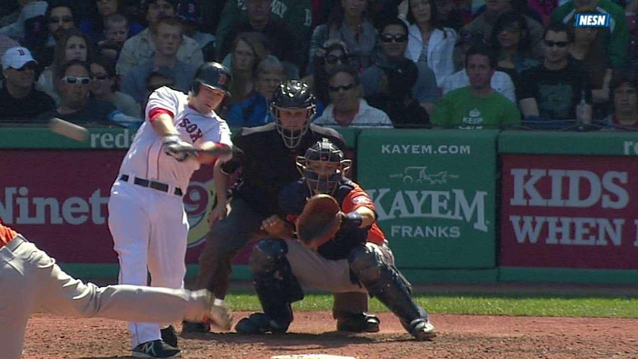 Lackey y los Medias Rojas barrieron a los Astros