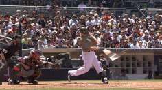 Trio of homers lifts Padres to sweep