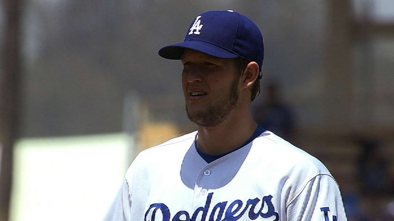 Kershaw returns from bereavement to face Giants