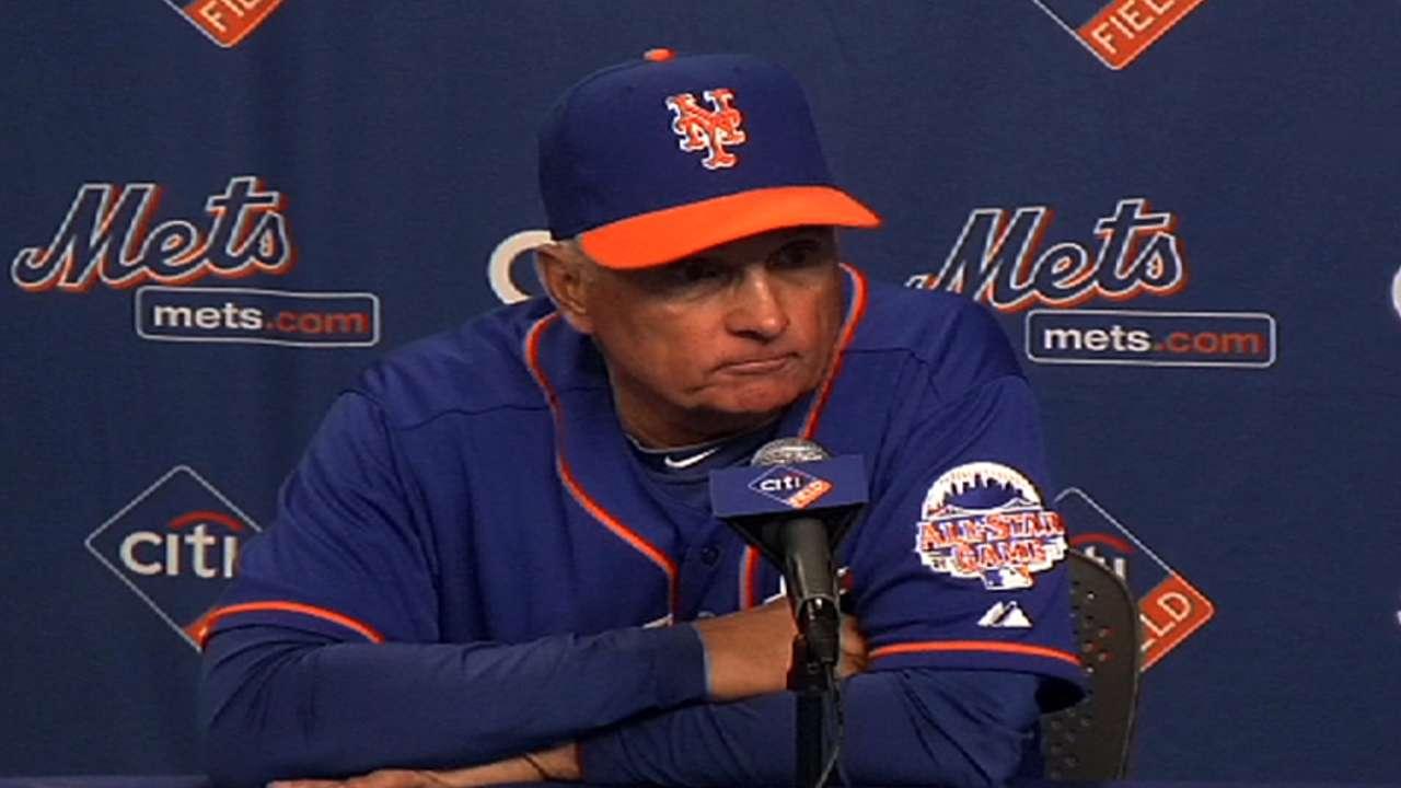 Series ends in defeat as Mets' bats go quiet