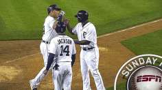 Three homers back Fister as Tigers sweep Braves