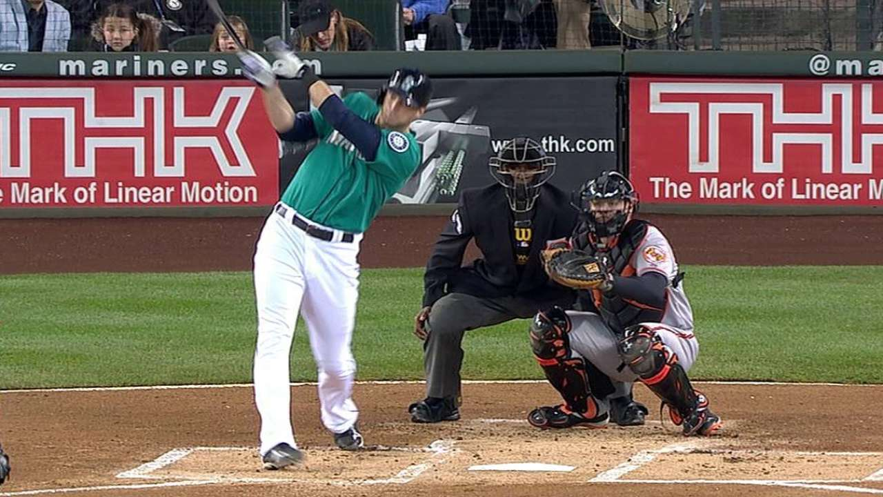 Saunders homers in return, looks to stay aggressive