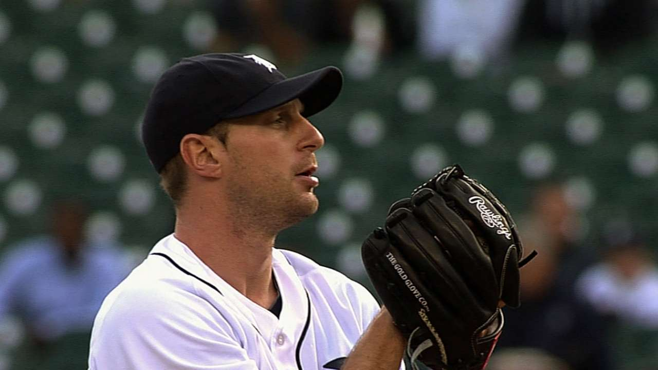 Scherzer's curve keyed series-opener success