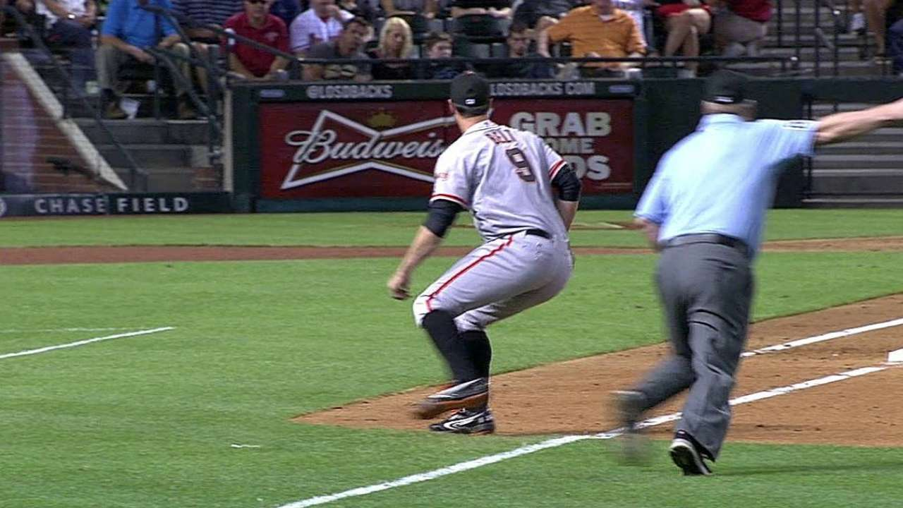 Sandoval exits with cranky right elbow