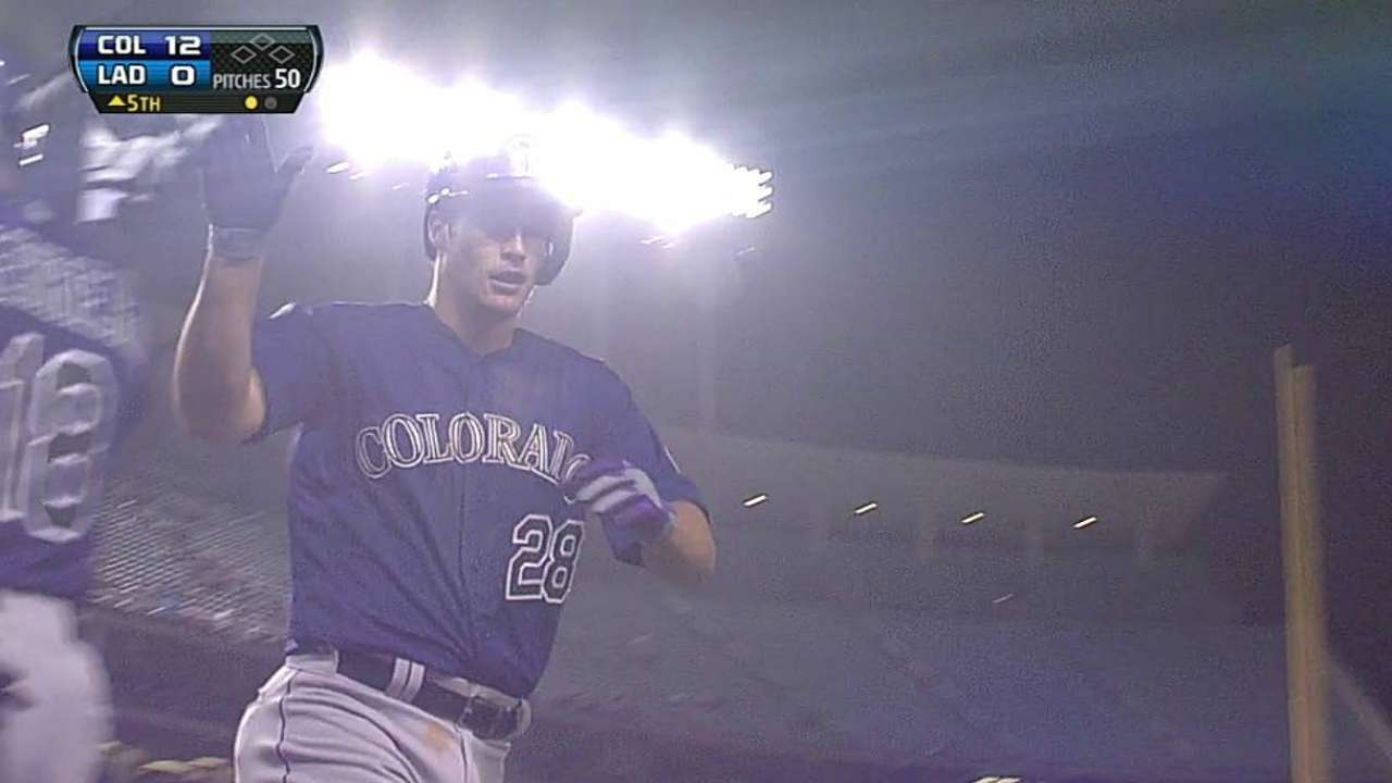Chatwood, Arenado lead Rox rout in return home