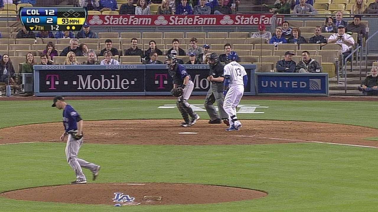 Hanley debuta pero Dodgers caen por paliza en casa