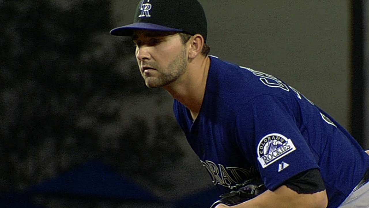 Rockies seek more of the same from Chatwood
