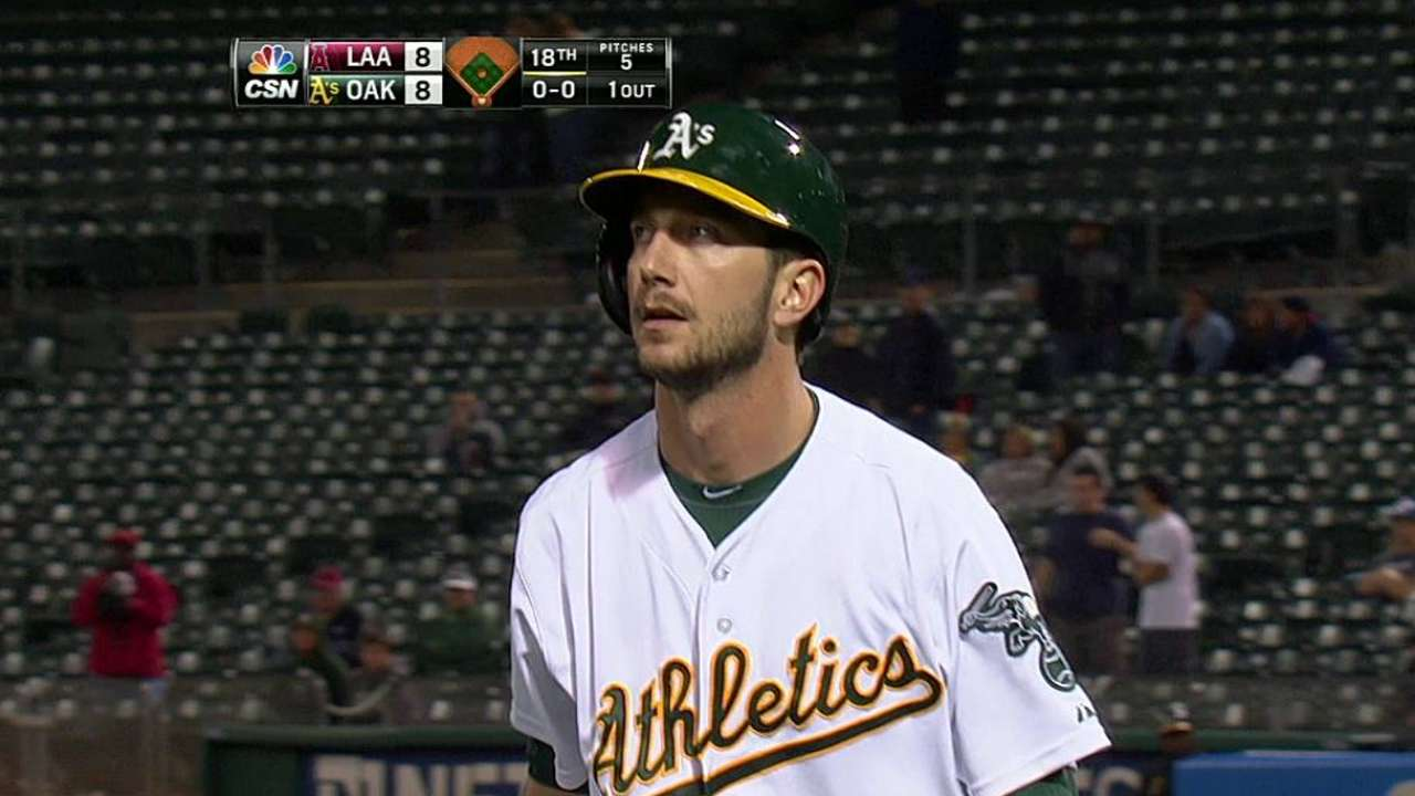 Blevins shows consistency in inconsistent role