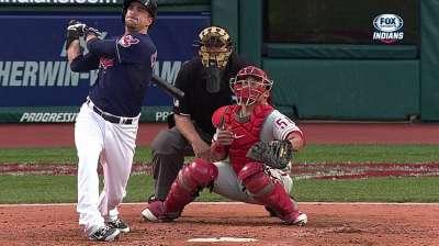 Chisenhall returns as Indians' third baseman