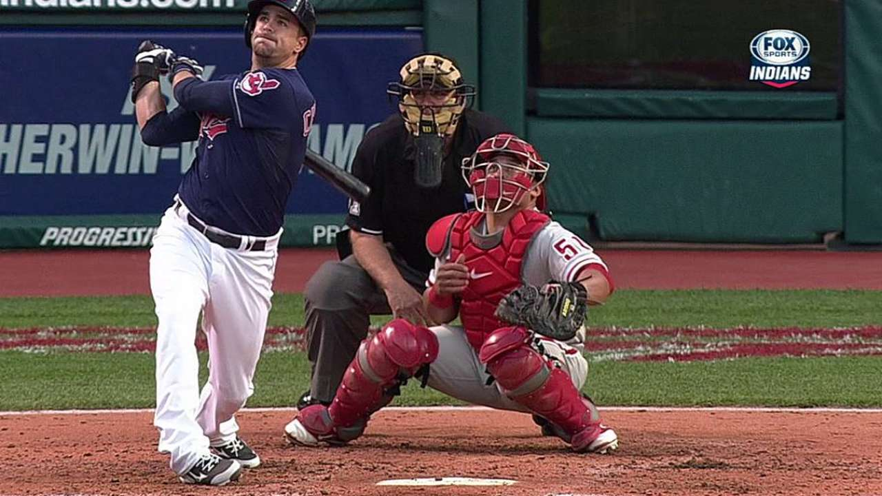 Chisenhall looking to improve against lefties