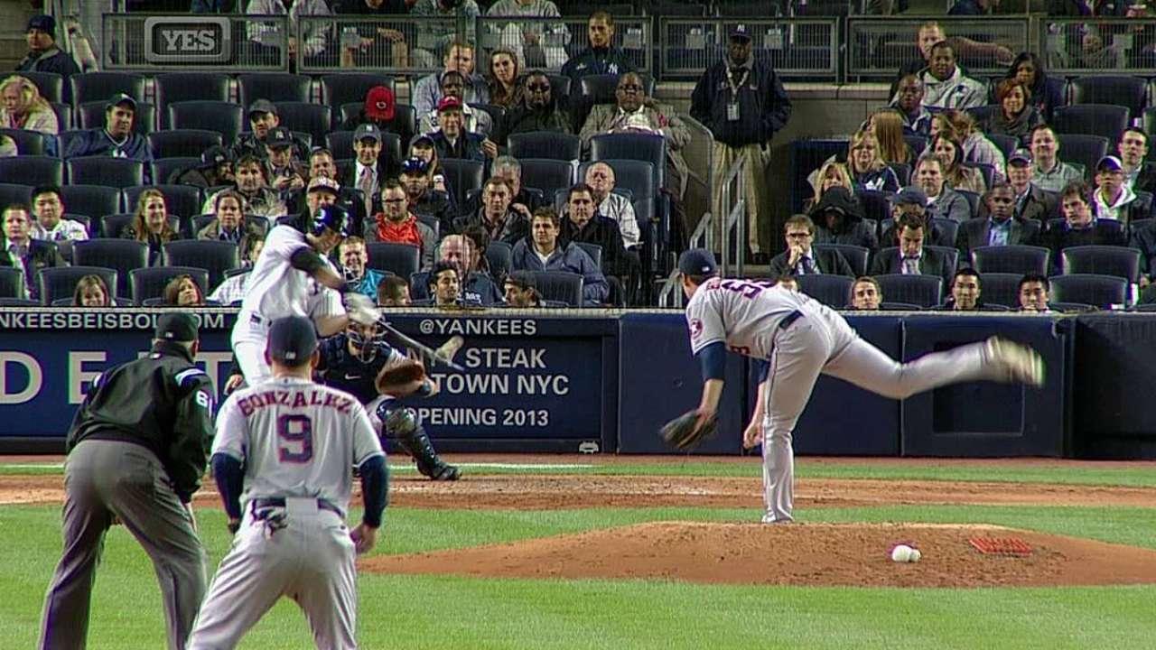 Kuroda y Hafner guiaron triunfo de los Yankees