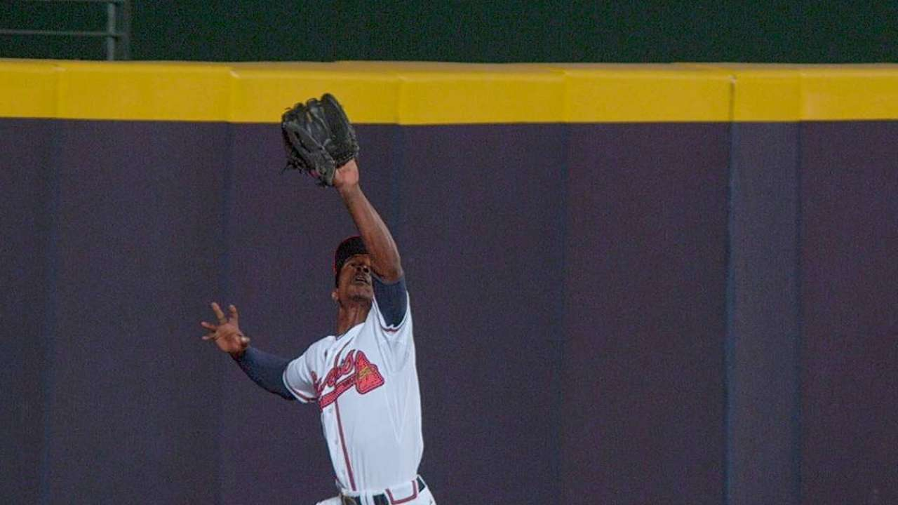 Braves outfield reminiscent of early '70s Giants
