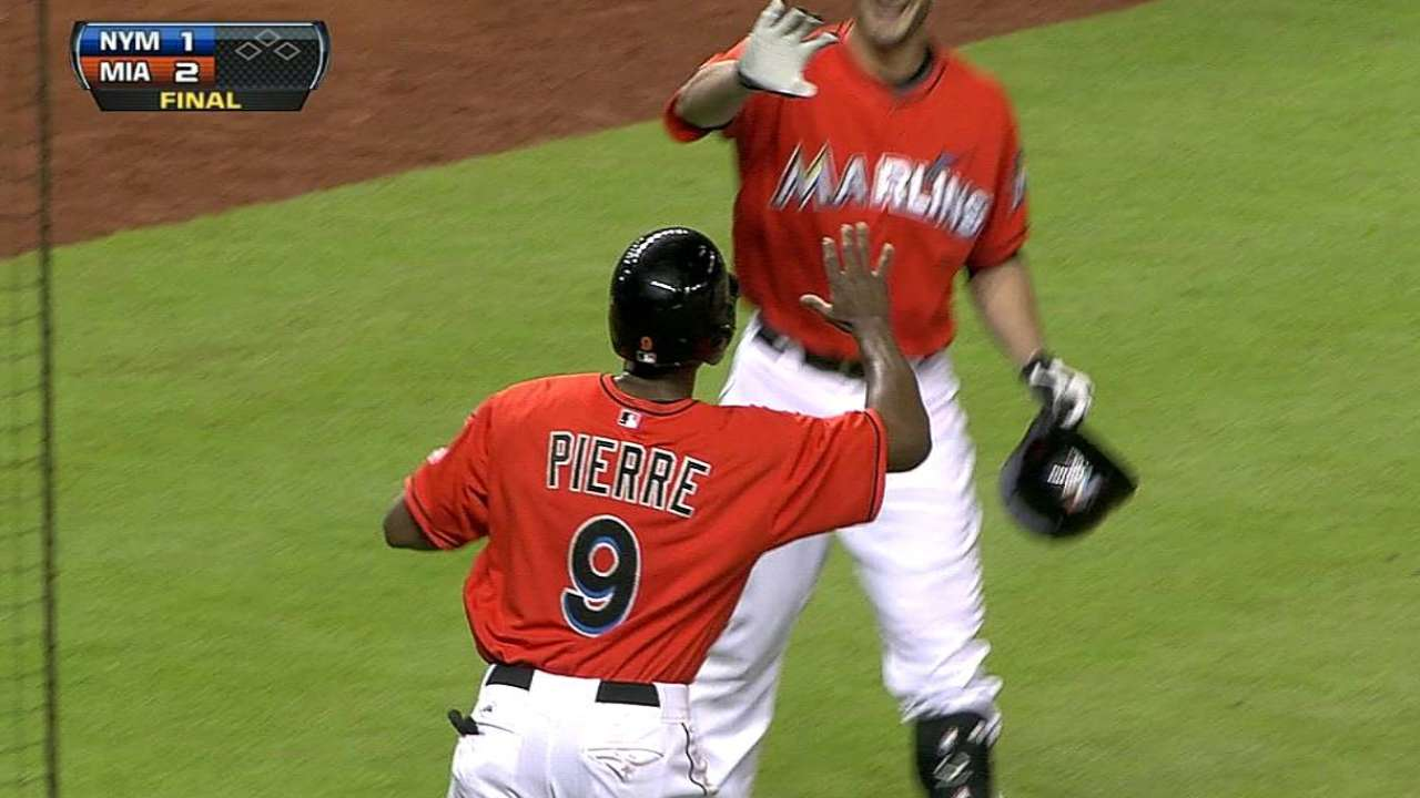 Wild ninth gives Miami back-to-back walk-offs