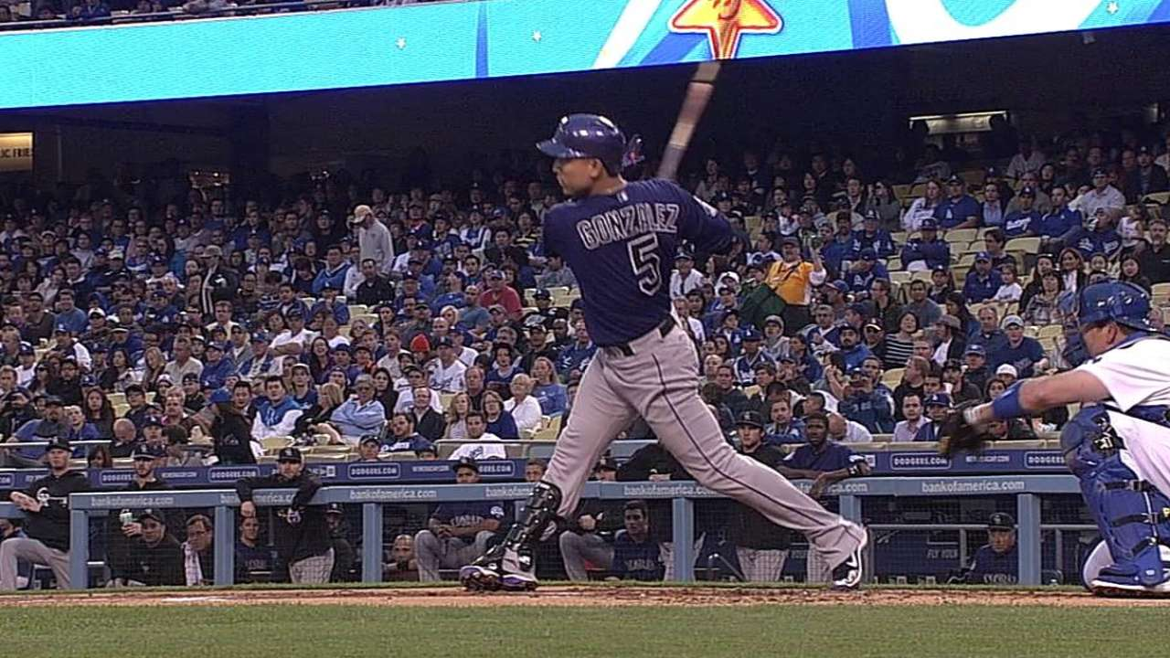 CarGo finding swing against Dodgers