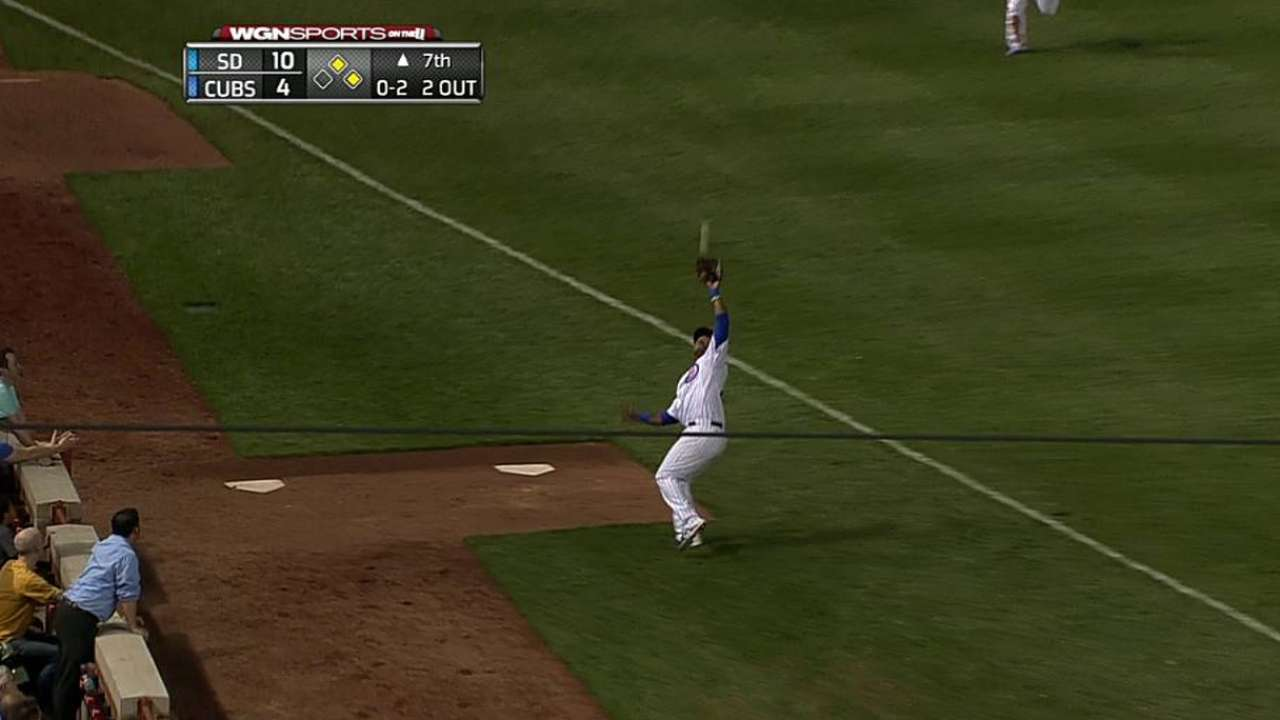 DeJesus awarded home run after instant replay