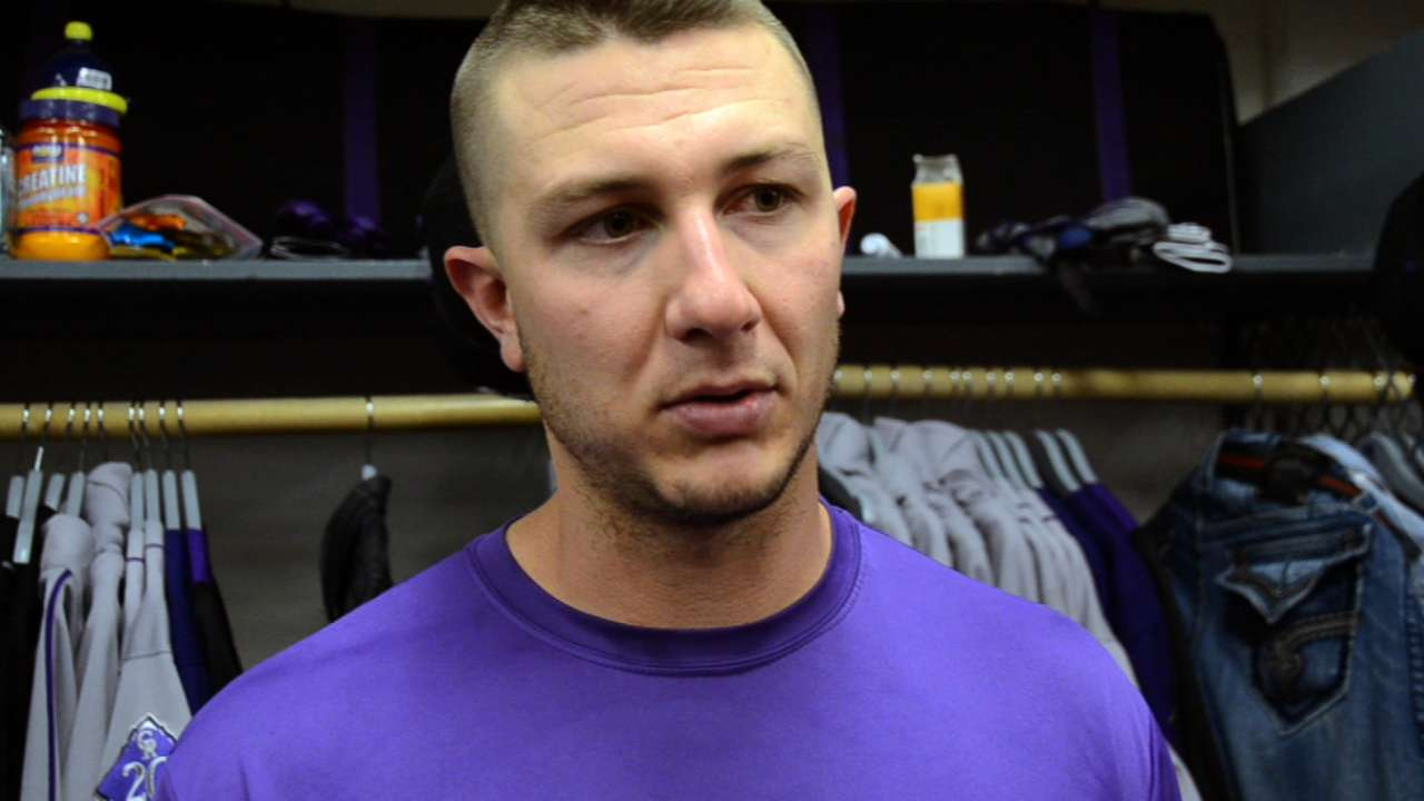 Jittery Tulowitzki back in Rockies' lineup