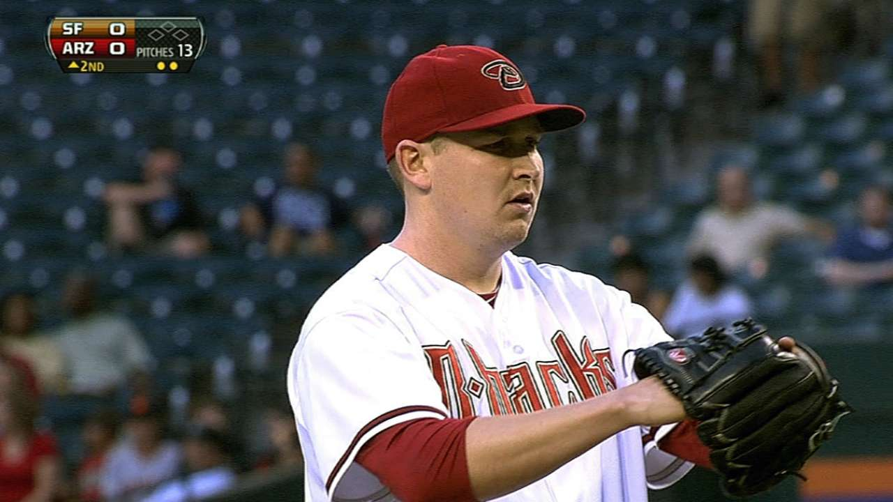 Late homer spoils Cahill's strong outing