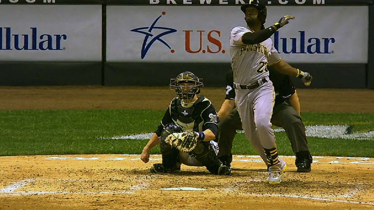 'Cutch is clutch for Bucs with four hits, homer in loss