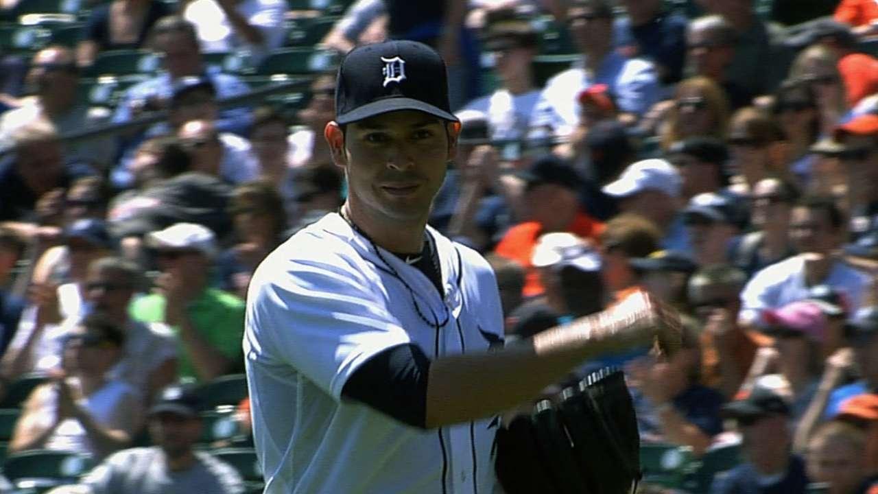 Sanchez strikes out nine as Tigers set AL record