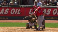 Angels hold on for Wilson after timely home runs