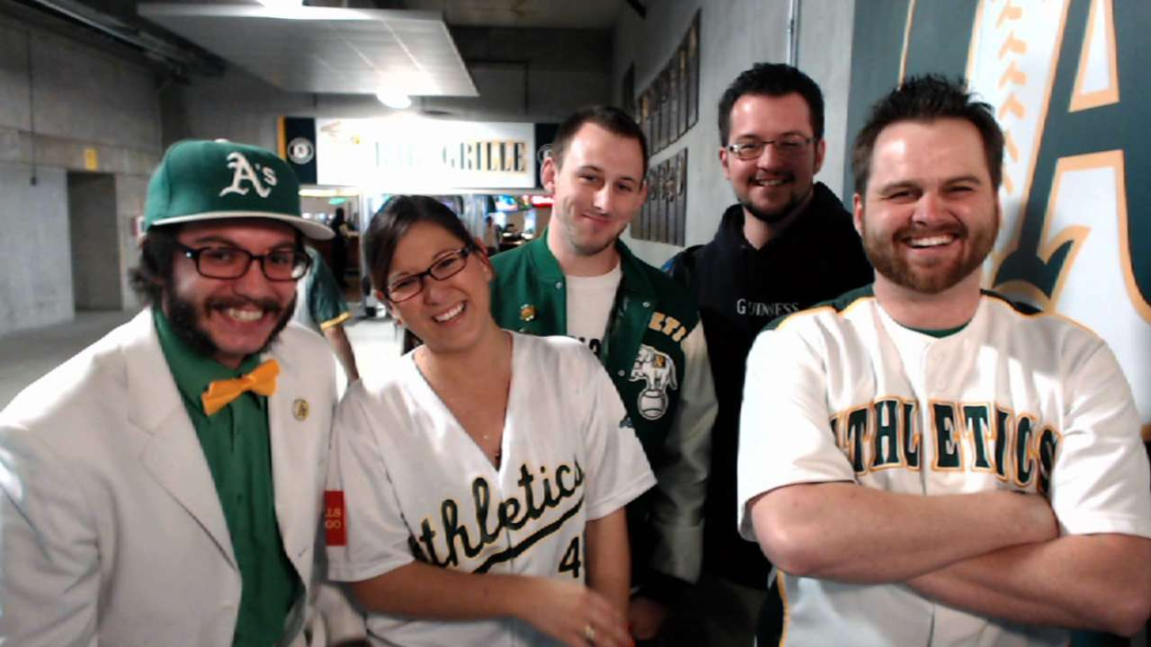 A's fans open Season 2 of 'Bucks on the Pond'