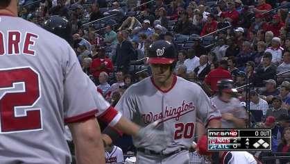 Desmond hits a two-run homer